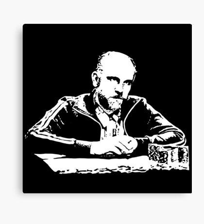 Teddy KGB Rounders Canvas Print