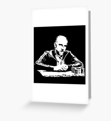 Teddy KGB Rounders Greeting Card