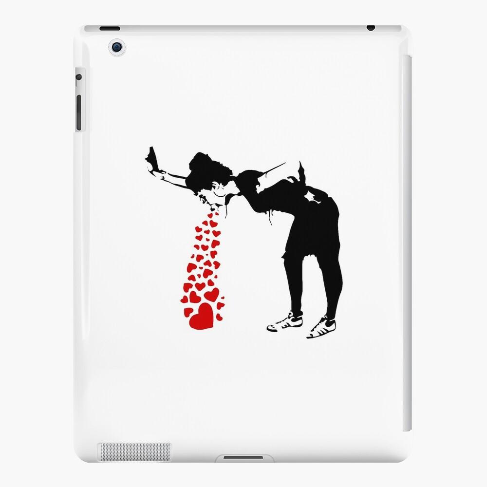 Lovesick - Banksy, Streetart Street Art, Grafitti, Artwork, Design For Men, Women, Kids iPad Cases & Skins
