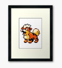 Pokemon - Growlithe Framed Print