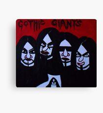 Gothic Giants Canvas Print
