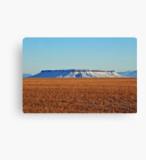 Square Butte is Beautiful Canvas Print