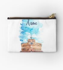 Architecture Rome. Italy. Saint Angel Castle in Rome. Studio Pouch