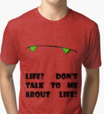 Marvin the Android's vision of life Tri-blend T-Shirt