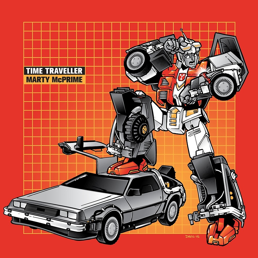 Marty McPrime (New Version) by Nathan Davis