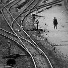 Train tracks, Bangkok by laurentlesax