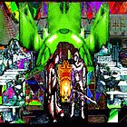 GREEN DOME: Psychedelic Power Plant by John Legry