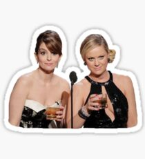 Tina and Amy get a lil drunk Sticker