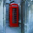 Lonely Phone Booth by Kasia Nowak