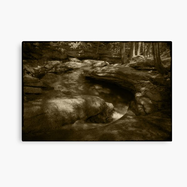 Winding Gorge Canvas Print