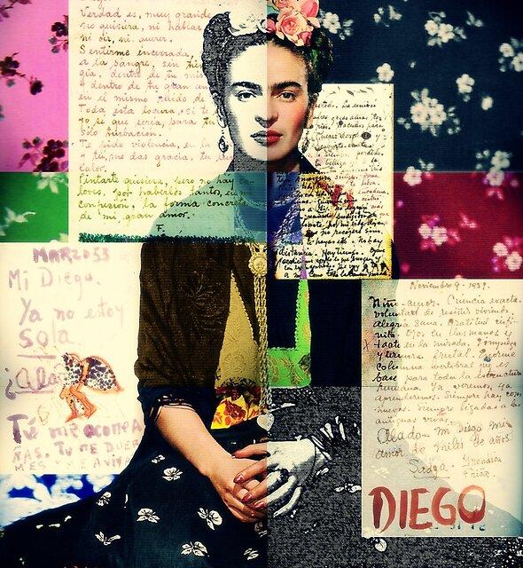 Frida Kahlo by aurealia