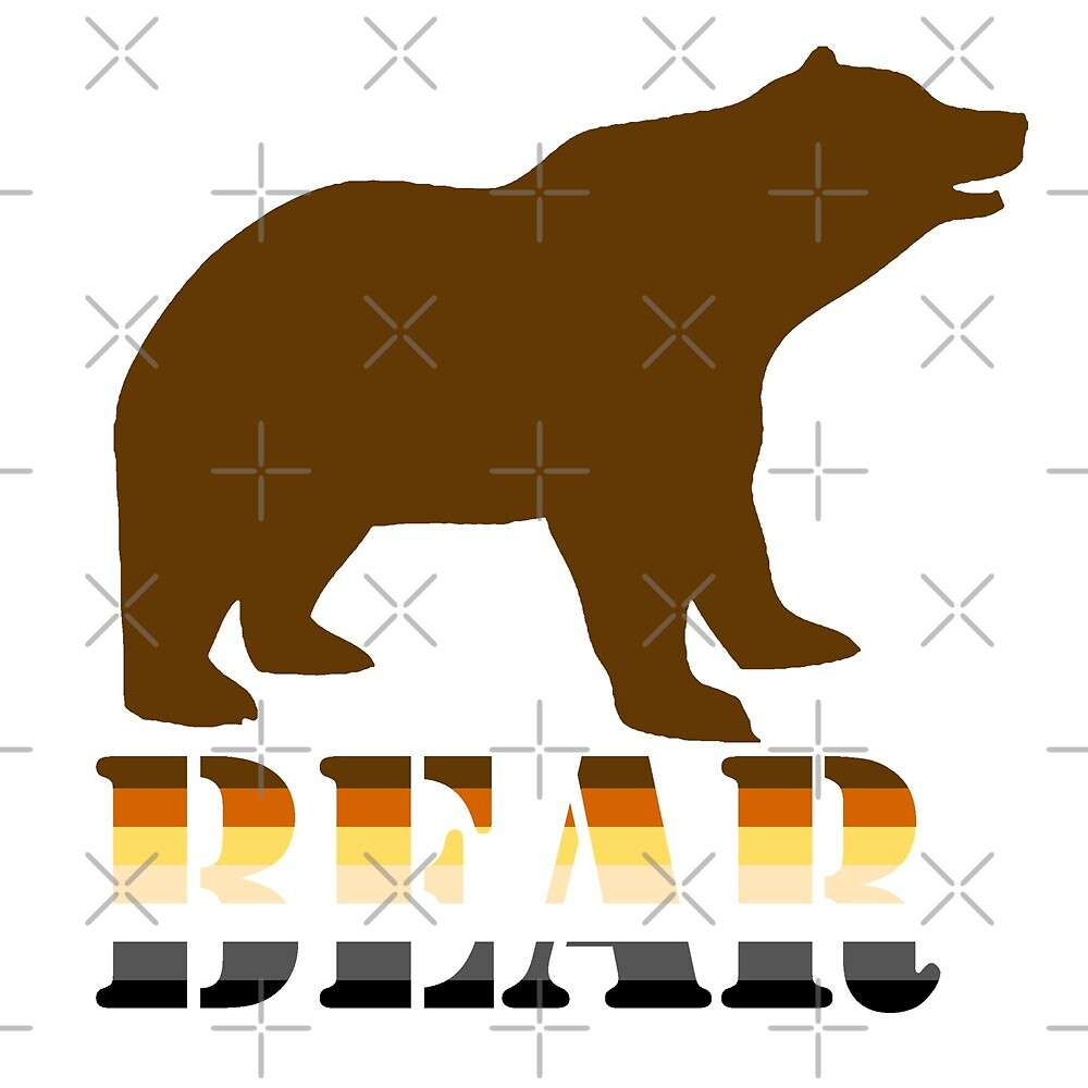 BEAR logo and stripes by queeradise