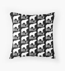 BILF / B.I.L.F. Merch Black 2000px Floor Pillow