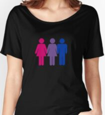 Bisexual Love Relaxed Fit T-Shirt