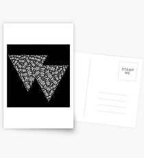 Bisexual Triangles Postcards