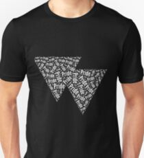Bisexual Triangles Slim Fit T-Shirt