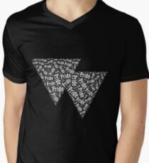 Bisexual Triangles V-Neck T-Shirt