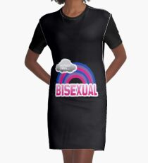 Everybody loves a Bisexual Graphic T-Shirt Dress
