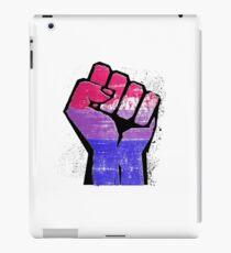 Bisexual Pride Resist Fist iPad Case/Skin