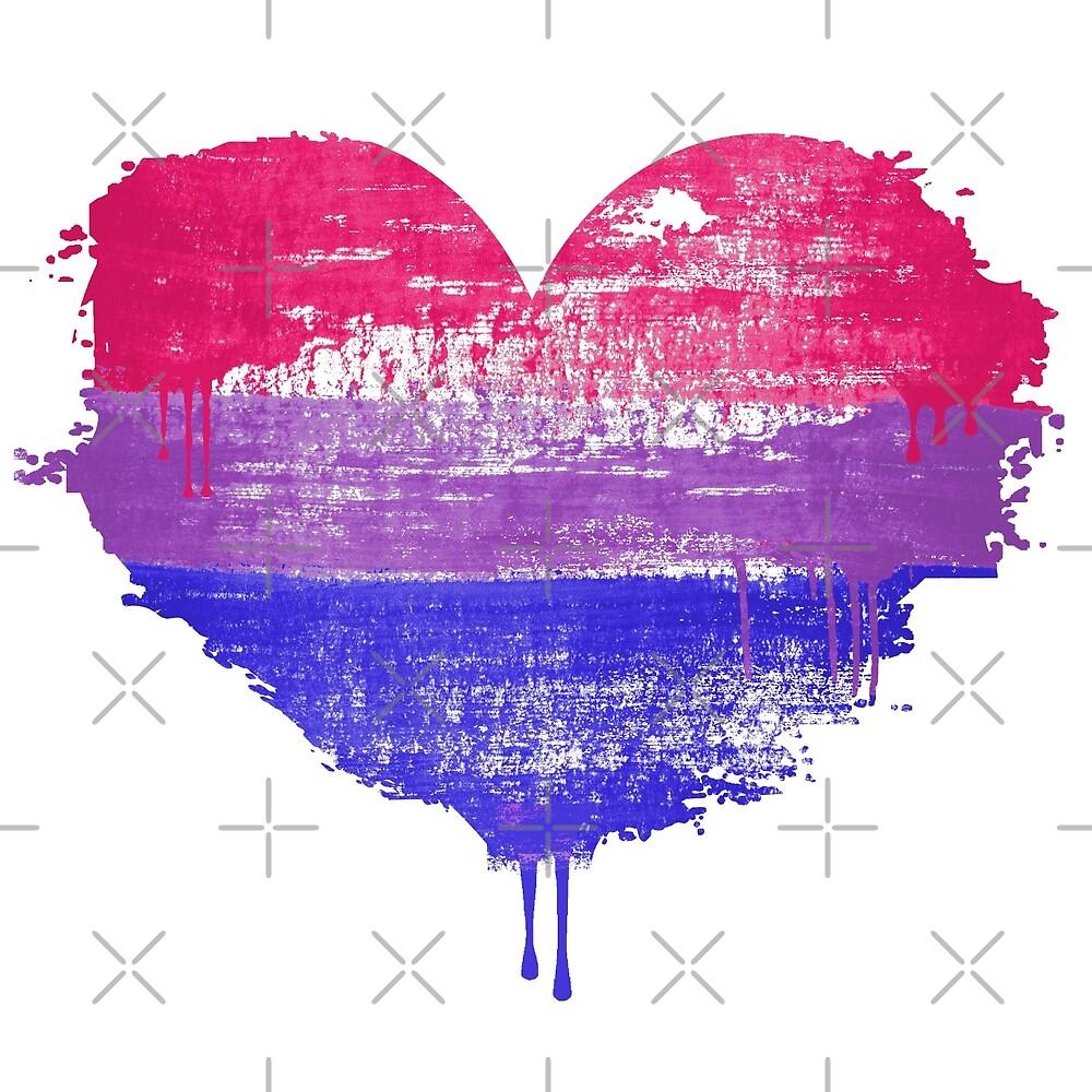 Bisexual Pride Heart by queeradise