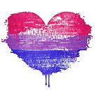 Bisexual Pride Heart by queeradise