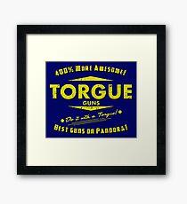 Torgue Guns Framed Print