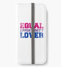 Equal Opportunity Lover iPhone Wallet/Case/Skin