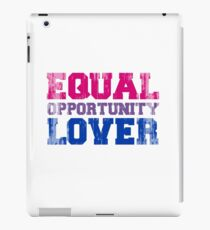 Equal Opportunity Lover iPad Case/Skin