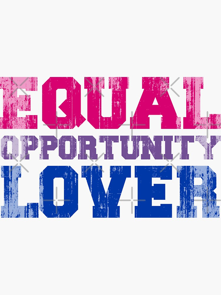 Equal Opportunity Lover by queeradise
