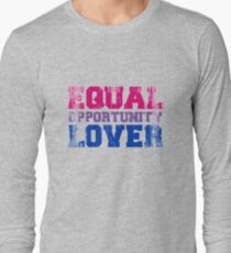 Equal Opportunity Lover Long Sleeve T-Shirt