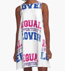 Equal Opportunity Lover A-Line Dress