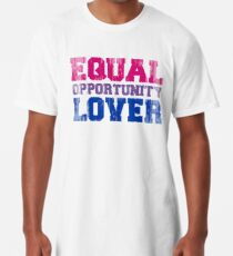 Equal Opportunity Lover Long T-Shirt
