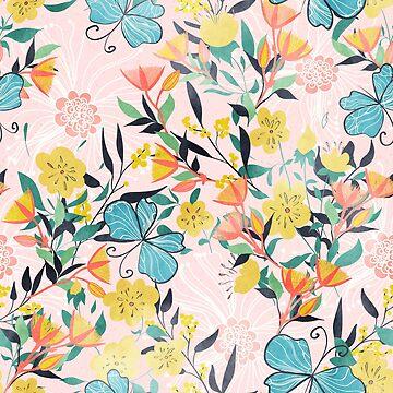 Australian Floral Summer  by Lidiebug