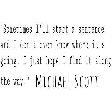 sometimes I start a sentence by TheBoyTeacher
