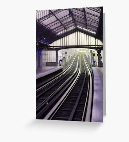 Subway in Paris Greeting Card