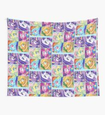 Rainbow Power Ponies Wall Tapestry