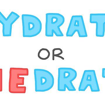 Hydrat oder Diedrate von Rocket-To-Pluto