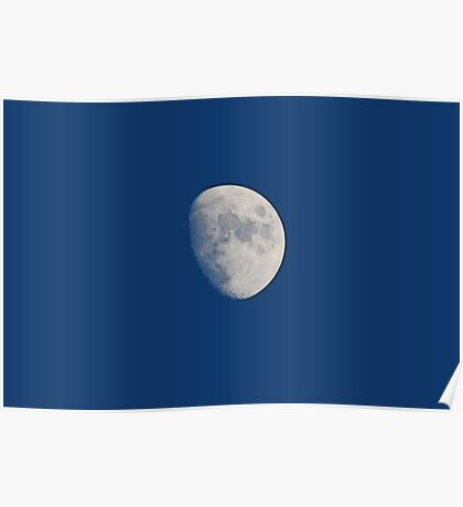 Three Quarters Moon Poster