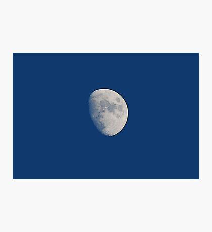 Three Quarters Moon Photographic Print