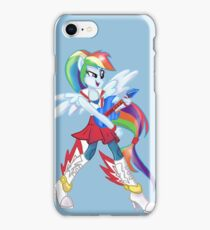 Rainbow Dash Rainboom iPhone Case/Skin