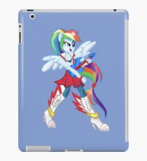 Rainbow Dash Rainboom iPad Case/Skin