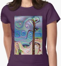 Tree In The Desert Women's Fitted T-Shirt