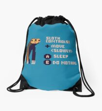 sloth controls! Drawstring Bag