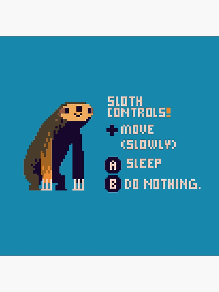 sloth controls! by louros