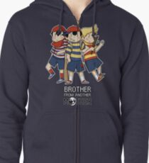 Brother From Another MOTHER Zipped Hoodie