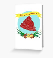 The Life Aquatic Greeting Card