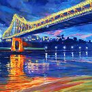 Story Bridge Nocturne by Cary McAulay