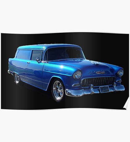 1955 Chevy Sedan Delivery Poster