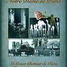 Notre Dame de Paris in Blue by Bonnie M. Follett