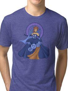 Gallifreyan Girl Tri-blend T-Shirt